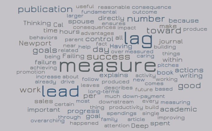 Lead Measures