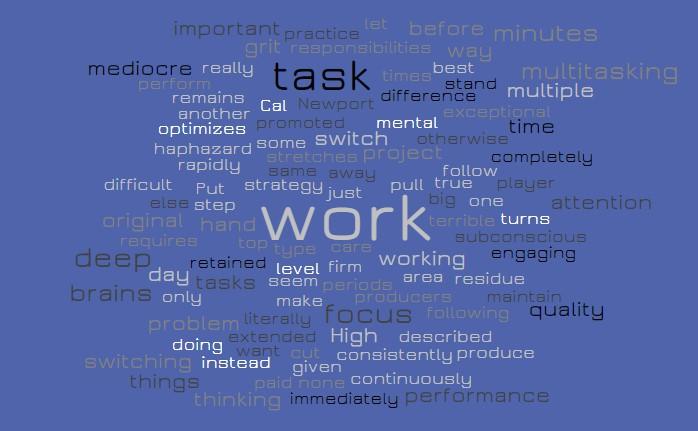 Switching Tasks - Deep Work - Joe Abittan