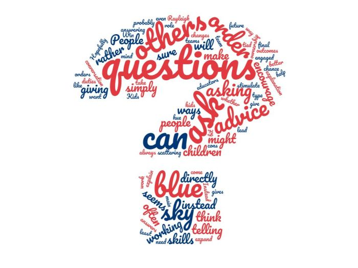 Direct Requests Vs Suggestions Via Questions - The Importance of Asking Questions - Joe Abittan