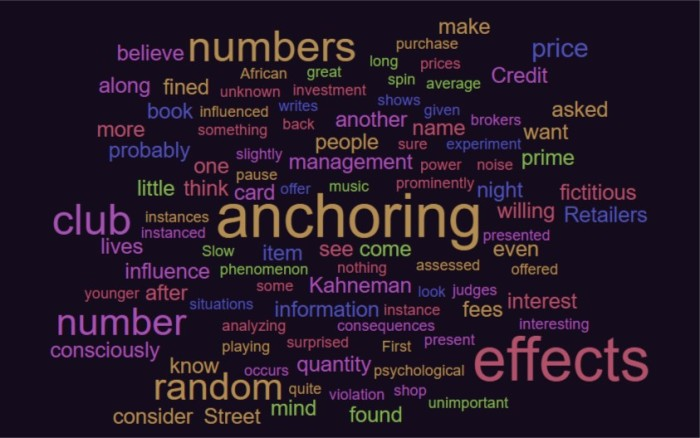 Anchoring Effects