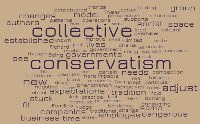 Collective Conservatism