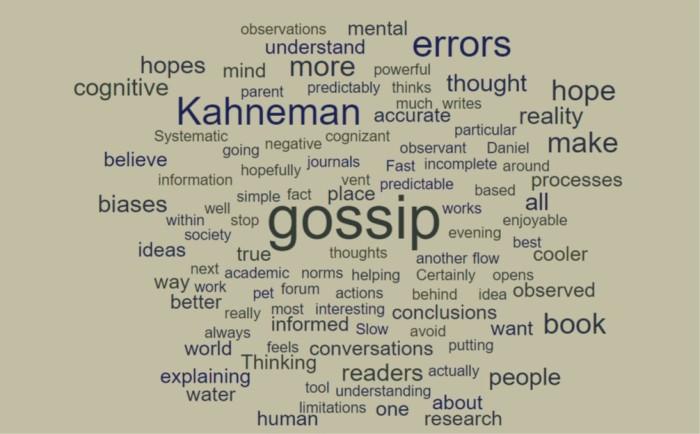 Kahneman's Gossip Hope