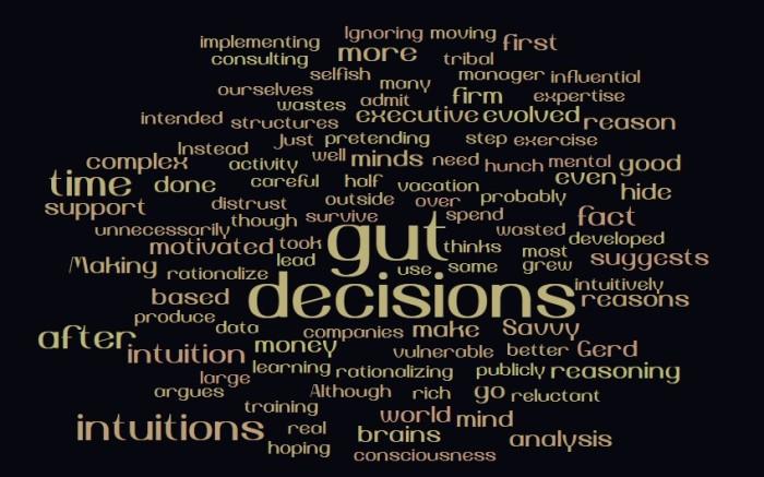 Gut Decisions