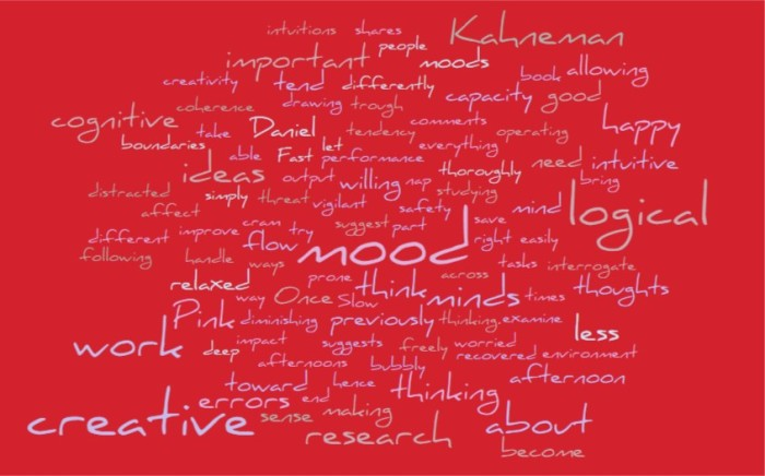 Mood, Creativity, & Cognitive Errors