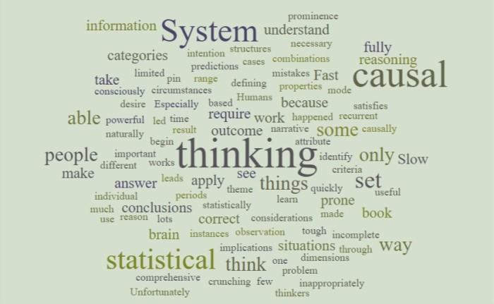 Causal Versus Statistical Thinking