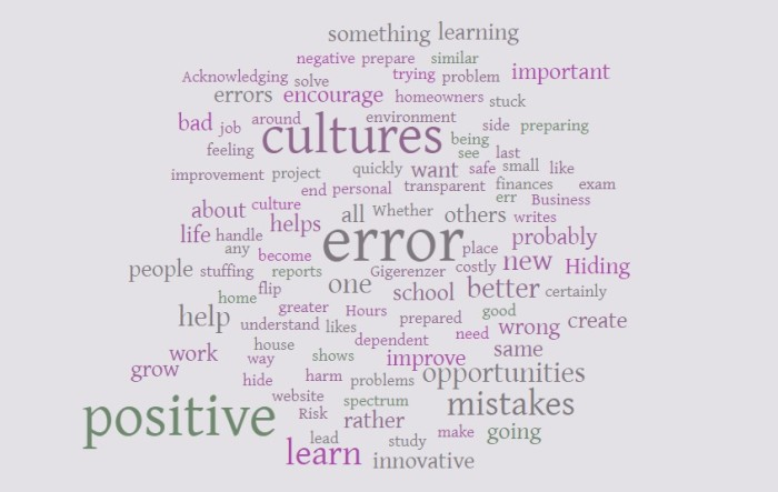 Positive Error Cultures - Joe Abittan