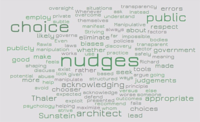 Acknowledging Nudges