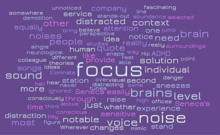 Stimuli, Attention, and What We Notice