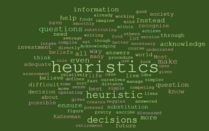 Substitution Heuristics
