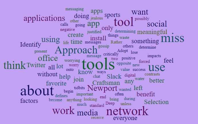 How We Think About Our Digital Tools
