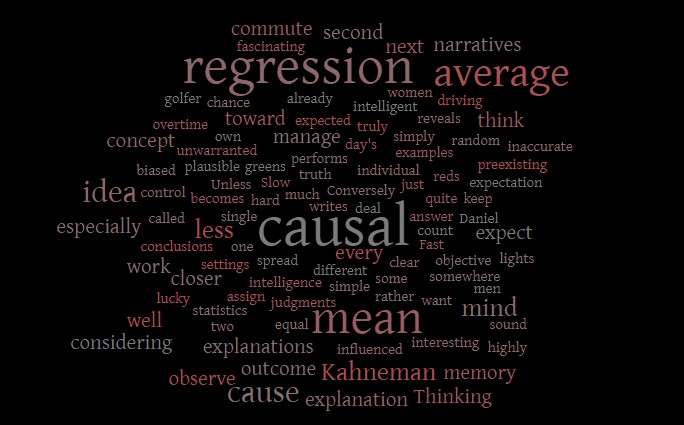 Regression to the Mean Versus Causal Thinking