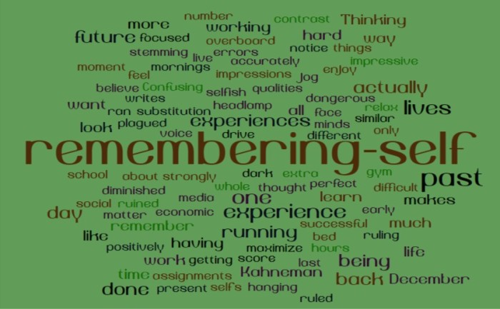 The Remembering Self