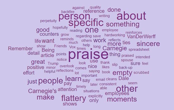 Specific Praise