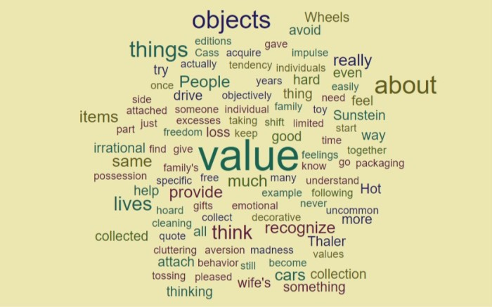 The Value of Objects - Joe Abittan