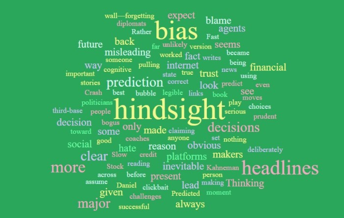 Hindsight Bias and Misleading Headlines