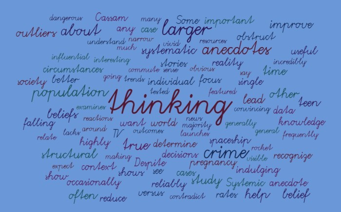 Anecdotal Versus Systematic Thinking