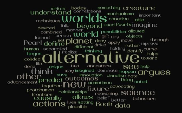 Alternative, Nonexistent Worlds - Judea Pearl - The Book of Why - Joe Abittan