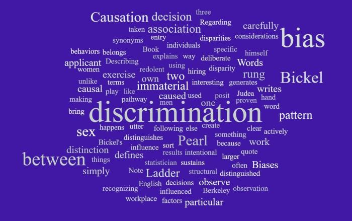 Bias Versus Discrimination - Joe Abittan