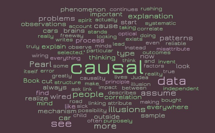 Causal Illusions - The Book of Why