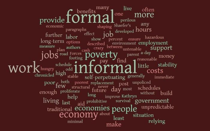 Informal Economies