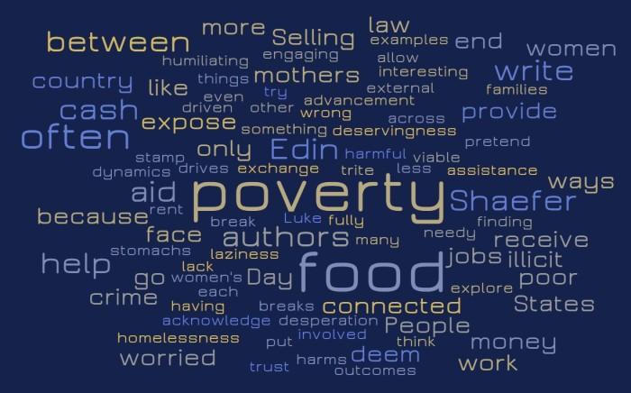 Poverty & Law Breaking