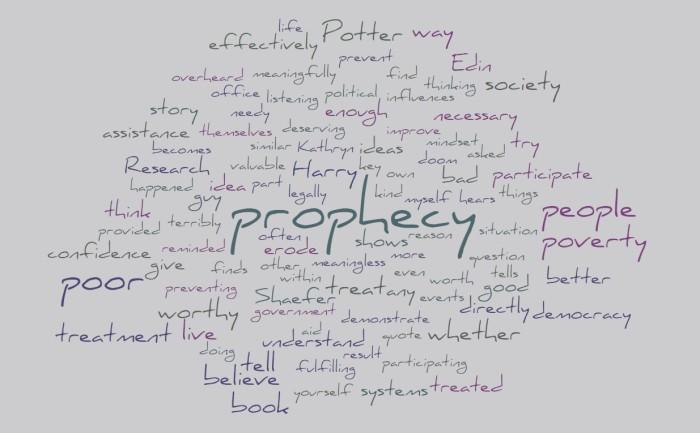 Poverty & Prophecy