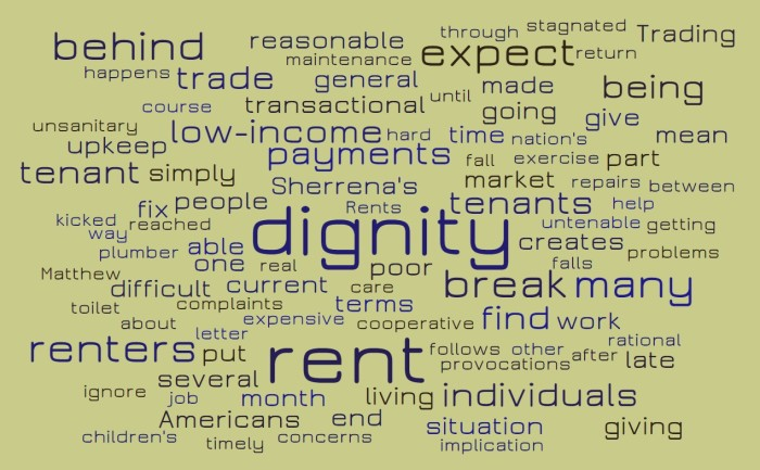 Housing or Dignity