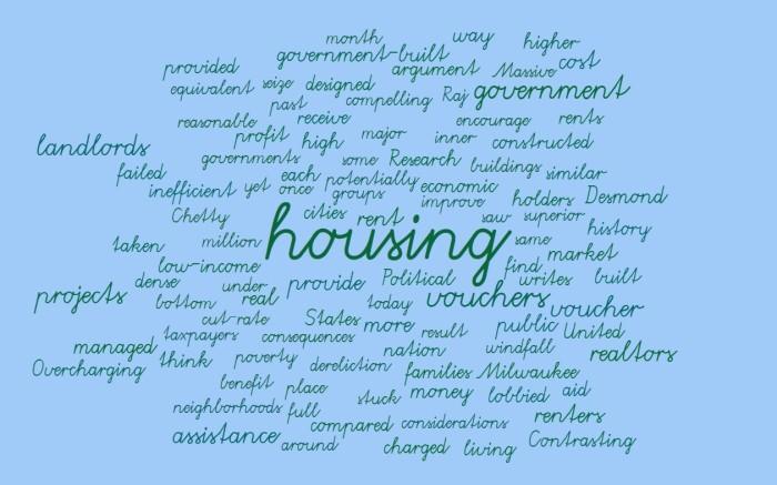 Housing Vouchers - Joe Abittan - Matthew Desmond - Evicted