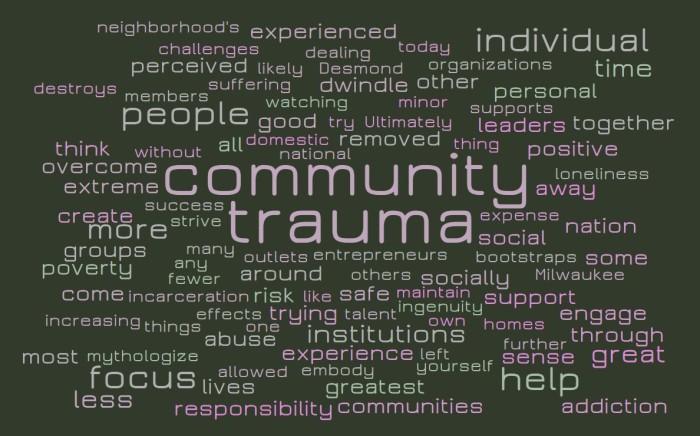 Community & Trauma