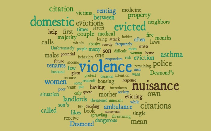 Nuisance Citation Evictions