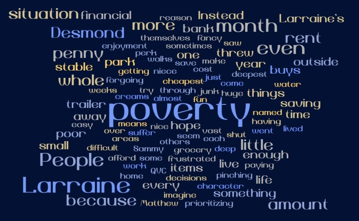 Saving Money in Poverty
