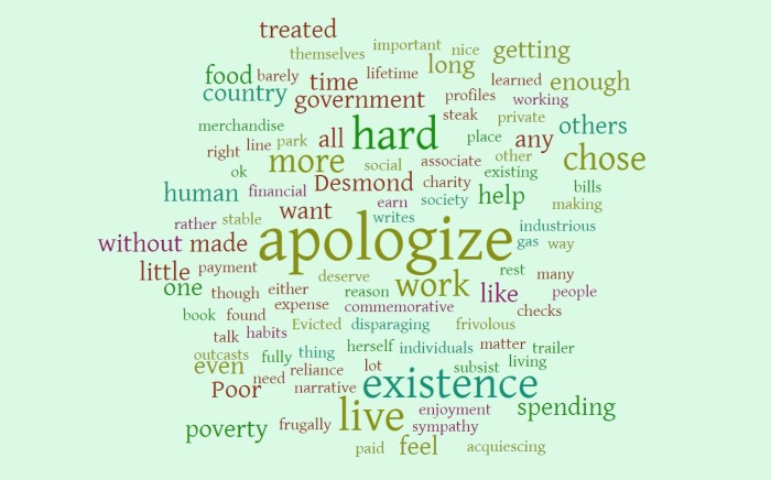 Apologizing for Existence