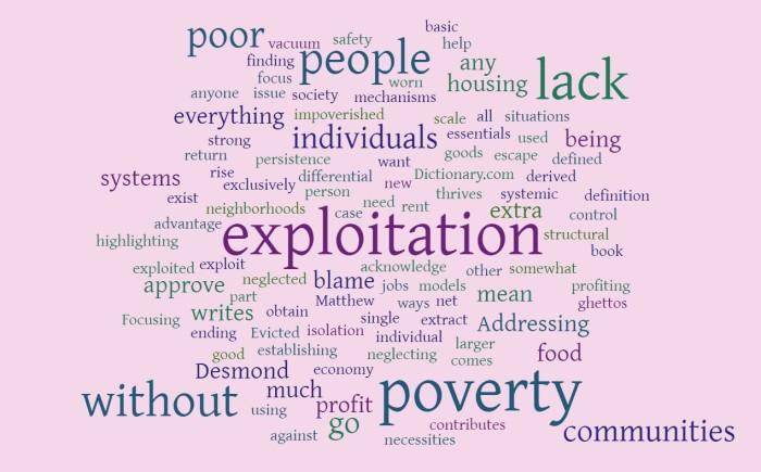 Exploitation & Poverty