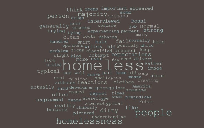 55% of Chicago Homeless Looked Neat and Clean