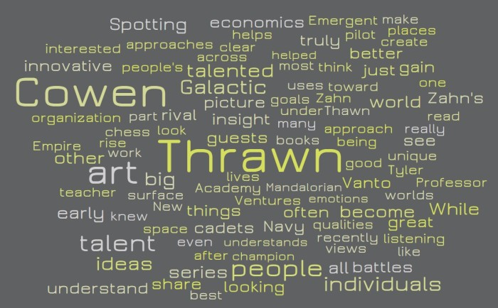 Tyler Cowen is Thrawn - Joe Abittan
