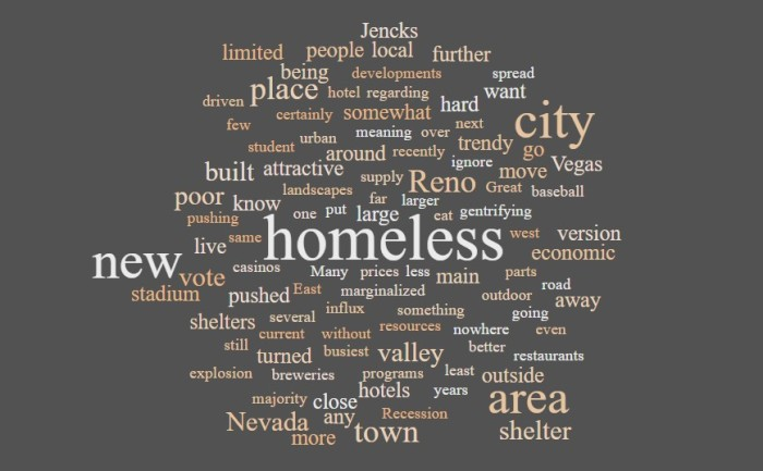 Voting, Homelessness, and Gentrification