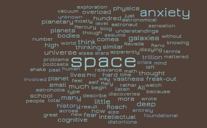 Space Anxiety - Mary Roach - Packing for Mars