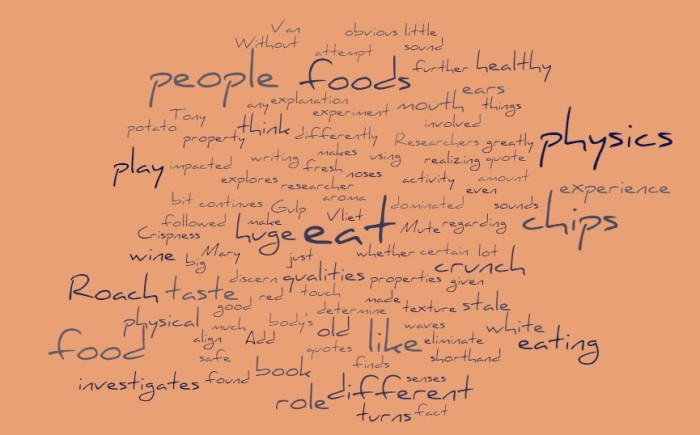 People Eat Physics - Gulp - Mary Roach - Joe Abittan
