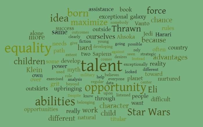 Why Equality of Opportunity is a Myth - Ezra Klein - Star Wars - Yuval Noah Harari - Thrawn - Ahsoka - Sapiens