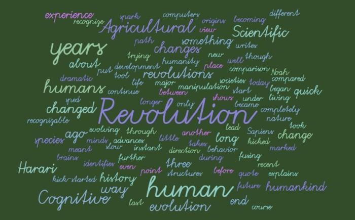 Three Major Revolutions