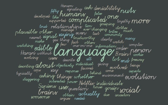 More on Human Language and Gossip