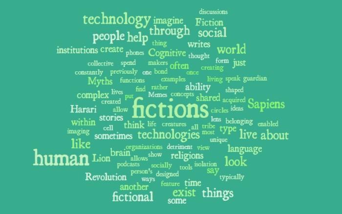 Fiction as a Technology - Yuval Noah Harari Sapiens - Joe Abittan